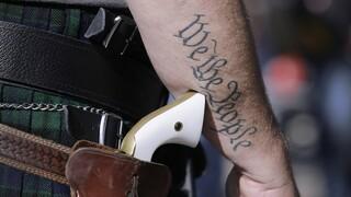 Τέξας: Οι πολίτες θα μπορούν να φέρουν κρυμμένα όπλα χωρίς άδεια