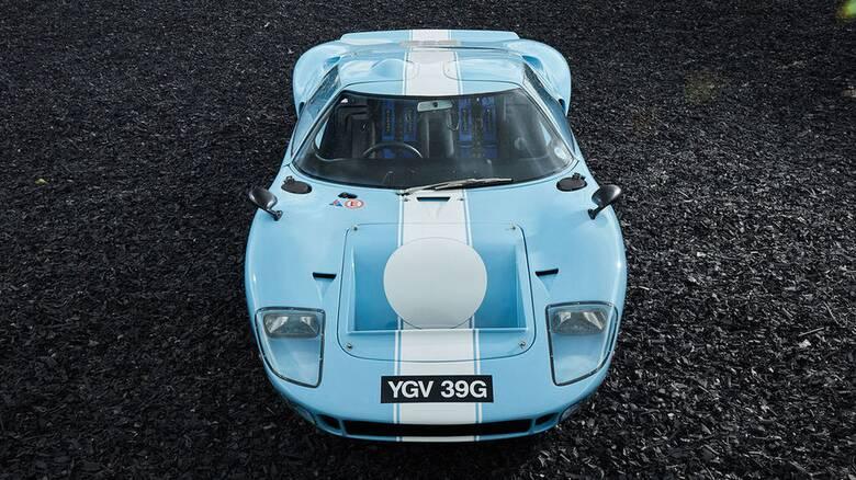 Αυτό είναι το τελευταίο Ford GT40 που κατασκευάστηκε και είναι σχεδόν καινούργιο