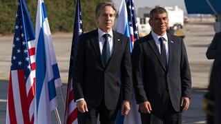 Μέση Ανατολή: Ο Αμερικανός ΥΠΕΞ Άντονι Μπλίνκεν έφτασε στο Ισραήλ