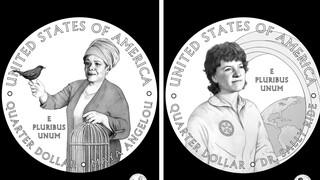 Η ποιήτρια Μάγια Αγγέλου και η αστροναύτης Σάλι Ράιντ σε νομίσματα των ΗΠΑ