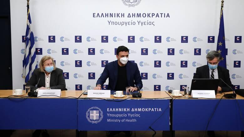 Ο Κικίλιας θα ενημερώσει τους εκπροσώπους των κομμάτων για την πανδημία
