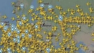 Λευκορωσία: Το ευρωπαϊκό εμπάργκο πτήσεων σε μια εικόνα