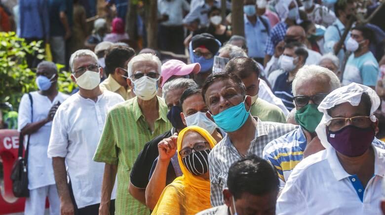 Κορωνοϊός - Ινδία: Πάνω από 27 εκατ. κρούσματα και 311.000 νεκροί
