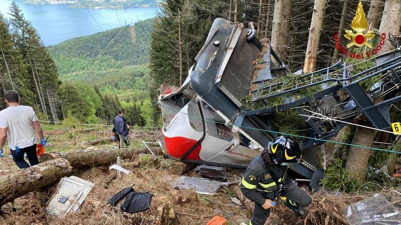 Ιταλία: Τρεις συλλήψεις για την τραγωδία με το τελεφερίκ