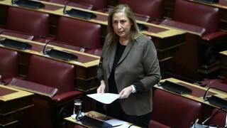 Ξενογιαννακοπούλου: Φιάσκο με τις συντάξεις χηρείας - Αντί για έλεγχο, οριζόντια περικοπή 50%