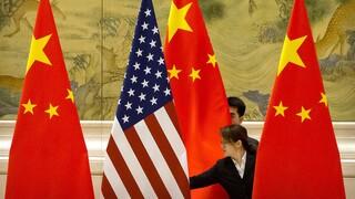 Πρώτη επαφή αξιωματούχων ΗΠΑ-Κίνας για το εμπόριο αφότου ανέλαβε ο Μπάιντεν