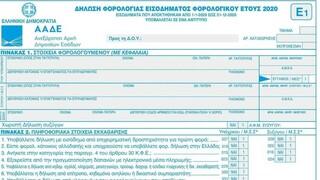 Φορολογικές δηλώσεις 2021:  Οι νέοι κωδικοί και οι φοροελαφρύνσεις