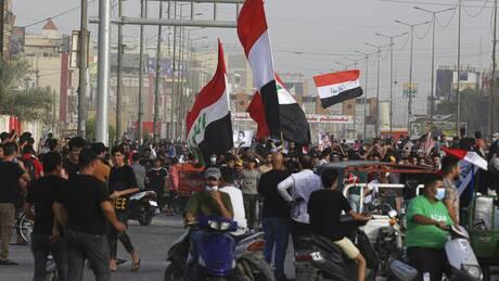 Αγανάκτηση ΗΠΑ για τη βία κατά των αντικυβερνητικών διαδηλώσεων στο Ιράκ