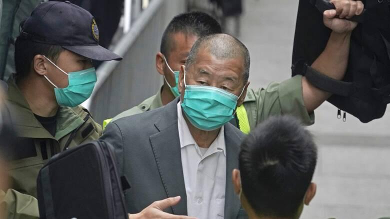 Χονγκ Κονγκ: Ξανά στη φυλακή ο μεγιστάνας του Τύπου Τζίμι Λάι για συμμετοχή σε διαδηλώσεις