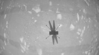 «Αγχωτική» πτήση για το ελικόπτερο της NASA στον Άρη