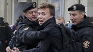 Λευκορωσία: «Θύελλα» για τη σύλληψη Προτάσεβιτς - Παρέμβαση Πούτιν ζητάει ο Σολτς