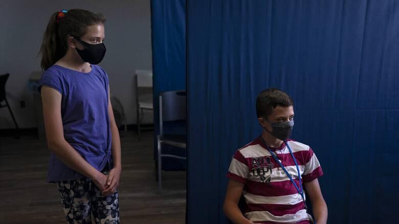 Κορωνοϊός: «Πράσινο φως» από τον ΕΜΑ στο εμβόλιο της Pfizer για παιδιά 12-15 ετών