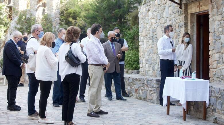 Τέσσερα χρόνια από τον θάνατο του Κωνσταντίνου Μητσοτάκη: Στα Χανιά για το μνημόσυνο ο πρωθυπουργός