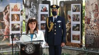 Στο Μυστρά η Κατερίνα Σακελλαροπούλου για τα «Παλαιολόγεια 2021»