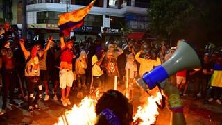 «Φλέγεται» η Κολομβία: Δέκα νεκροί σε αντικυβερνητικές διαδηλώσεις στο Κάλι