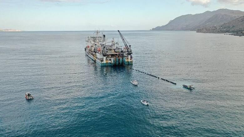 ΑΔΜΗΕ: Θετικό σήμα προς τη διεθνή αγορά η ηλεκτρική διασύνδεση Κρήτης - Πελοποννήσου