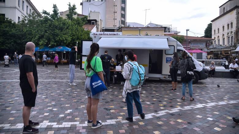 Κορωνοϊος - ΕΟΔΥ: Πού θα πραγματοποιηθούν δωρεάν rapid test σήμερα
