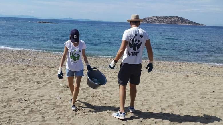 Χιλιάδες τόνοι πλαστικών κατακλύζουν τις ελληνικές παραλίες και θάλασσες