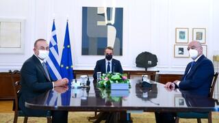 Ελληνοτουρκικά: Το «ταμείο» της επίσκεψης Τσαβούσογλου και το ραντεβού Μητσοτάκη - Ερντογάν
