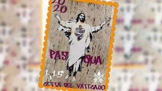 Street artist μήνυσε το Βατικανό για αναπαραγωγή του έργου της σε γραμματόσημο - Πόσα χρήματα ζητάει