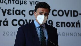 Κικίλιας στο CNN Greece: Η πανδημία αλλάζει το οργανόγραμμα του υπουργείου Υγείας