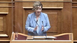 Γεροβασίλη στο CNN Greece: Ο Μητσοτάκης φοβάται τους βουλευτές του
