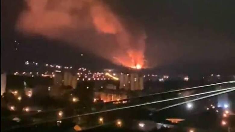 Σερβία: Ισχυρές εκρήξεις σε εργοστάσιο πυρομαχικών