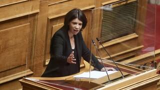 Ένταση στη Βουλή για τους «πολιτικούς κρατούμενους» της Σουλτάνας Ελευθεριάδου του ΣΥΡΙΖΑ