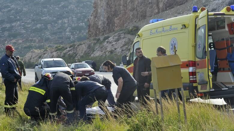 Σέρρες: Τουλάχιστον δύο νεκροί σε τροχαίο δυστύχημα με μετανάστες