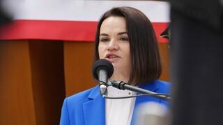 Λευκορωσία: Η αρχηγός της αντιπολίτευσης ζητά κοινή δράση ΕΕ-Βρετανίας-ΗΠΑ κατά Λουκασένκο