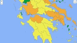 Κορωνοϊός: Νέος επιδημιολογικός χάρτης τεσσάρων επιπέδων - Τι προβλέπει