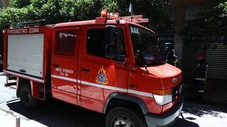 Φωτιά στο Νέο Πύργο Εύβοιας: Κάηκε σπίτι και ο ιδιοκτήτης υπέστη εγκαύματα