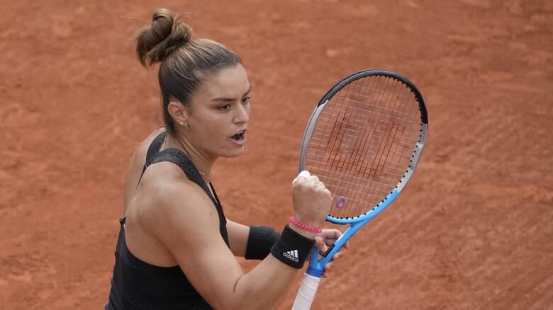 Roland Garros: Ασταμάτητη η Σάκκαρη έγραψε ιστορία και προκρίθηκε στους «16»