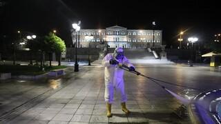 Δήμος Αθηναίων: Επιχείρηση καθαριότητας και απολύμανσης στα Εξάρχεια