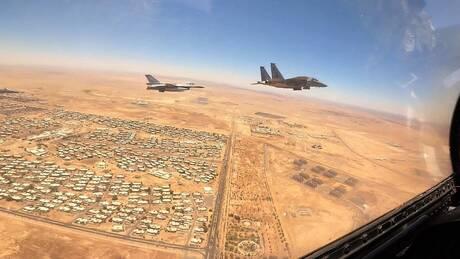 Falcon Eye-2: Εντυπωσιακές εικόνες και βίντεο από την άσκηση Ελλάδας - Σαουδικής Αραβίας