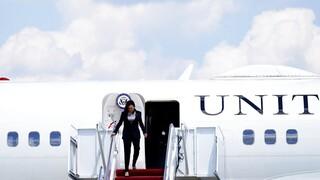 Αγωνία εν πτήσει για την Κάμαλα Χάρις: Αναγκαστική προσγείωση για το Air Force Two