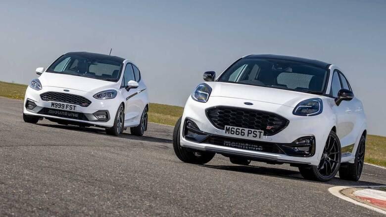 Αυτοκίνητο:Tα Ford Fiesta και Puma ST των 1.500 κυβικών μπορούν να φτάσουν μέχρι και τους 260 ίππους