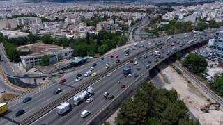 Κίνηση στους δρόμους της Αθήνας: Μεγάλο μποτιλιάρισμα στον Κηφισό