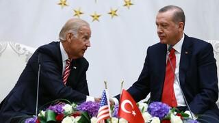 Ο Μπάιντεν θα θέσει το θέμα των τουρκικών προκλήσεων στην Ανατ. Μεσόγειο στον Ερντογάν