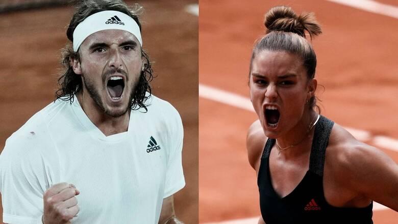 Τσιτσιπάς - Σάκκαρη: Στα ημιτελικά του Roland Garros - Πότε θα μεταδοθούν οι αγώνες