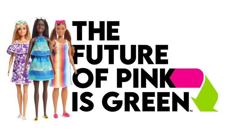 Νέα συλλογή Barbie από βιοδιασπώμενο πλαστικό λανσάρει η Mattel