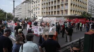 Απεργία: Σε εξέλιξη οι κινητοποιήσεις στο κέντρο της Αθήνας