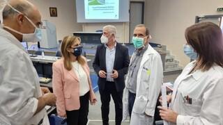 Δομές ψυχικής υγείας και το νοσοκομείο των Χανίων επισκέφθηκε η Ράπτη