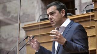 Tσίπρας: Φιμώνουν για να κρύψουν πως  ο Μητσοτάκης είναι στρατηγικός κακοπληρωτής