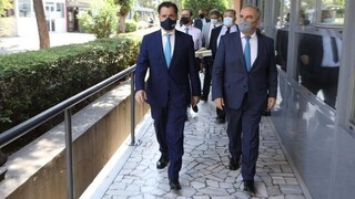 Στην παρουσίαση της πλατφόρμας «e-Λαχαναγορά» οι Άδωνις Γεωργιάδης και Νίκος Παπαθανάσης