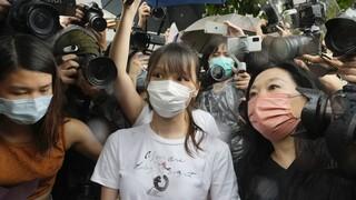 Χονγκ Κονγκ: Ελεύθερη η 24χρονη ακτιβίστρια Άγκνες Τσόου μετά από επτά μήνες στη φυλακή