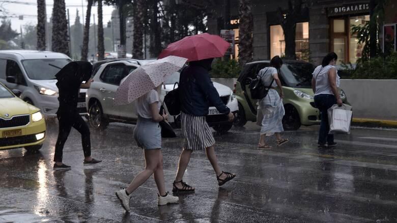 Καιρός: Συνεχίζεται η καλοκαιρινή κακοκαιρία - Νέες καταιγίδες και στην Αττική