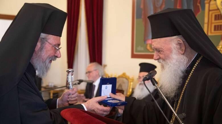 Κύπρος: Σε εκδήλωση για την Εθνική Παλιγγενεσία ο Αρχιεπίσκοπος Αθηνών Ιερώνυμος
