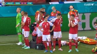 Σοκ στο Euro 2020: Κατέρρευσε ο Έρικσεν - Φόβοι για τη ζωή του