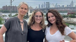 Sex and the City: Η Κάρι, η Μιράντα και η Σάρλοτ και πάλι μαζί (pics)